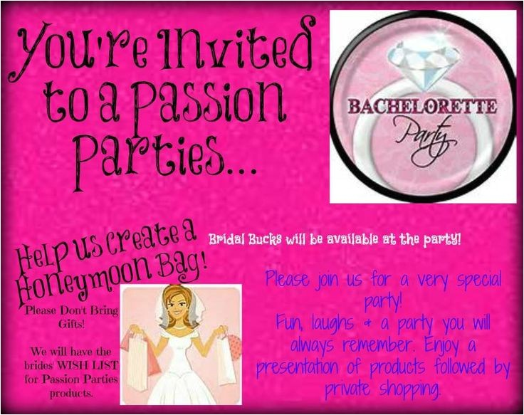 passion party invites
