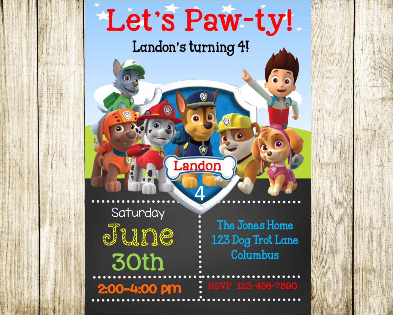 paw patrol birthday paw patrol ref= 4