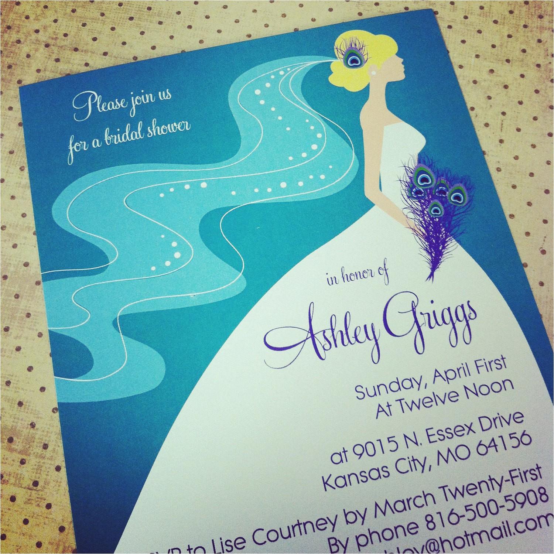 peacock bridal shower bachelorette party