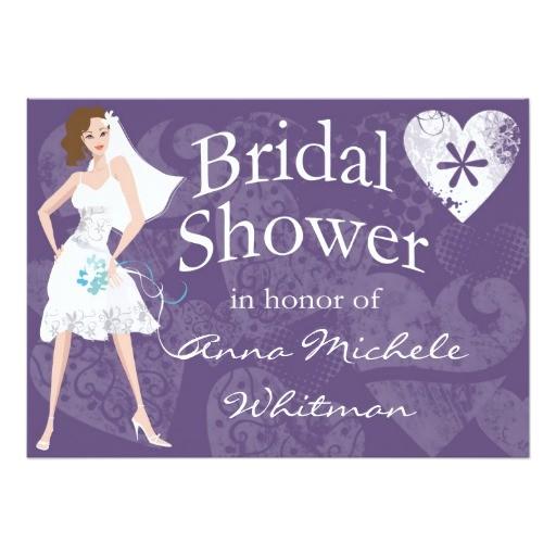personalized bridal shower invitation 161401359896870649
