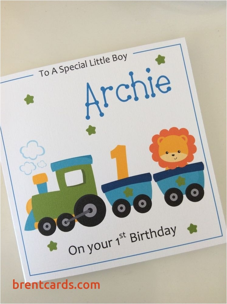 personalised grandson birthday cards