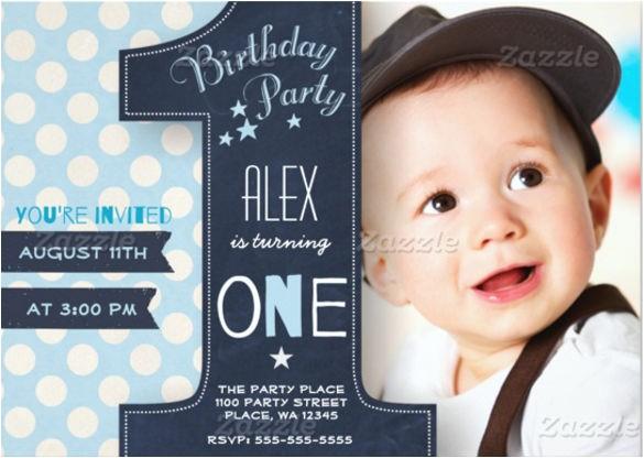 Personalised 1st Birthday Invitations Boy 30 First Birthday Invitations Free Psd Vector Eps Ai
