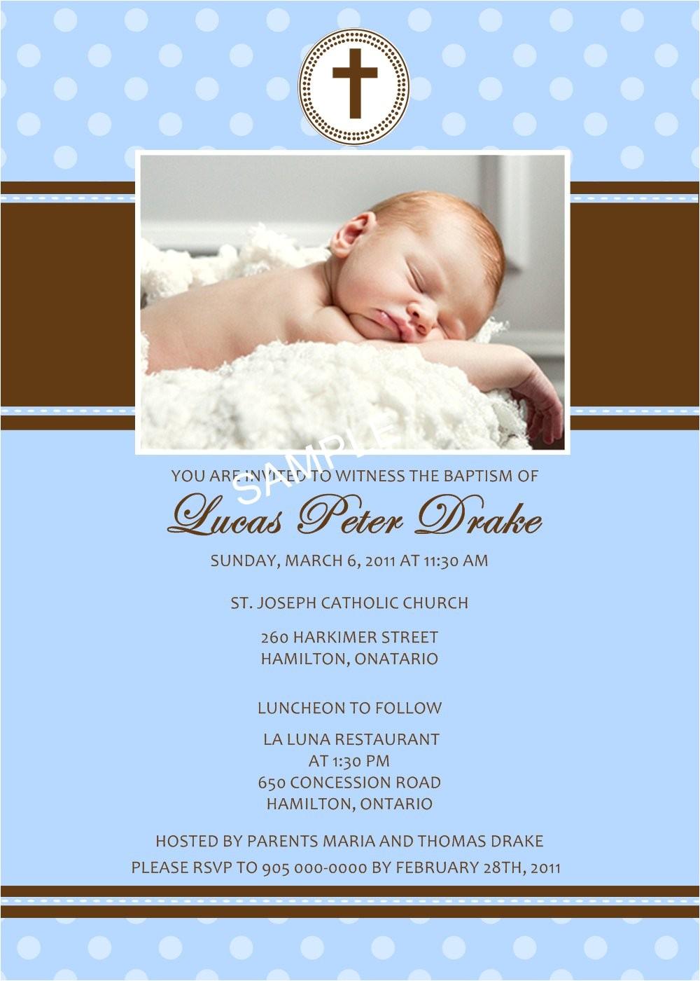 baptism invitations spanish