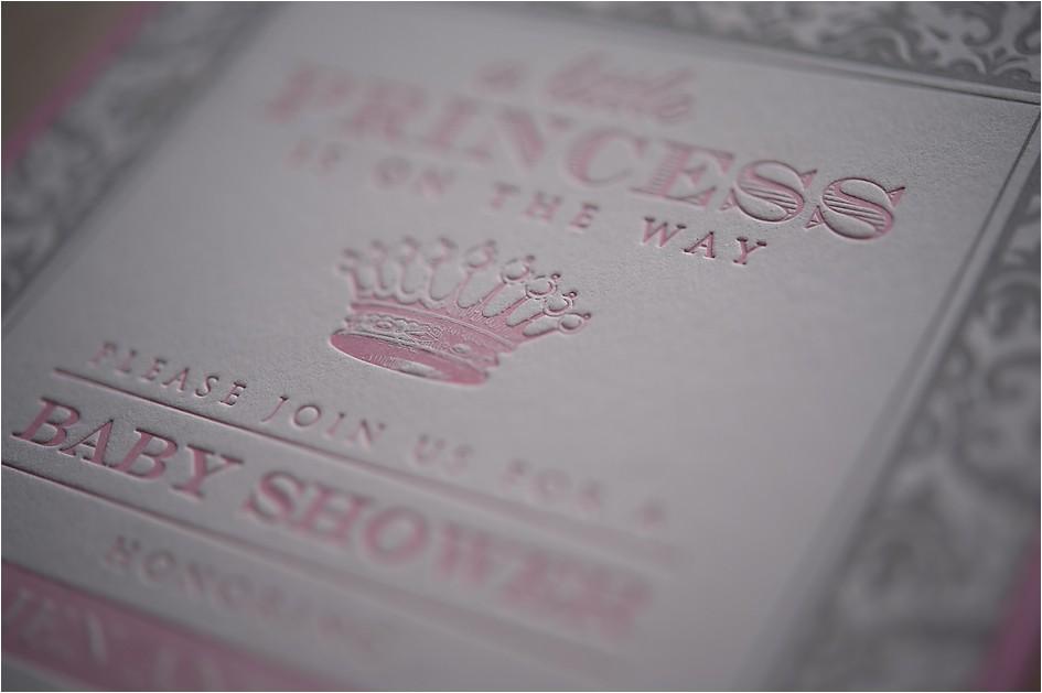 custom baby shower invitations letterpress personal stationery