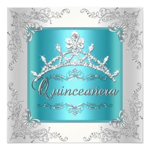 quinceanera birthday party invitations