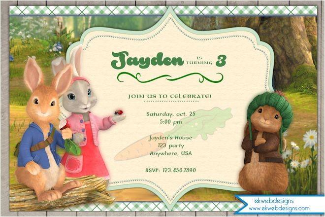 nick jrs peter rabbit birthday invitation peter rabbit birthday invitation