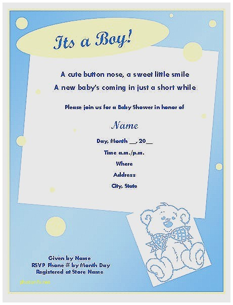 baby shower phrases for invitations