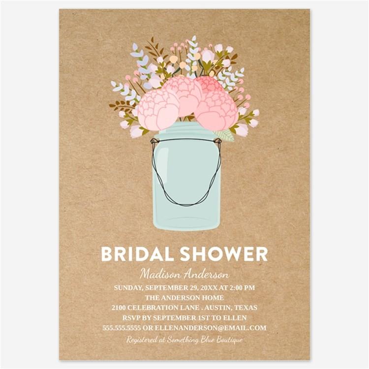 mason jar bridal shower ts