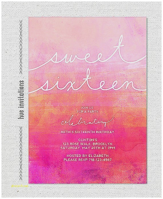 pink and orange baby shower invitations