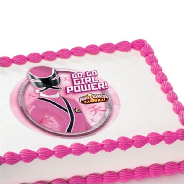 pink power ranger party ideas
