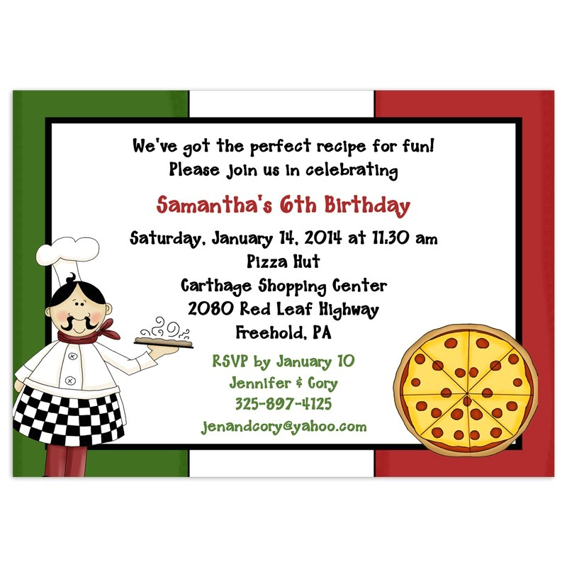 post printable pizza invitations