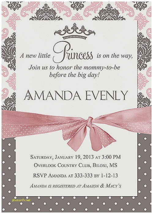 best place to baby shower invitations