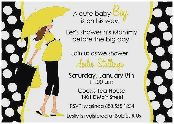 places to baby shower invitations