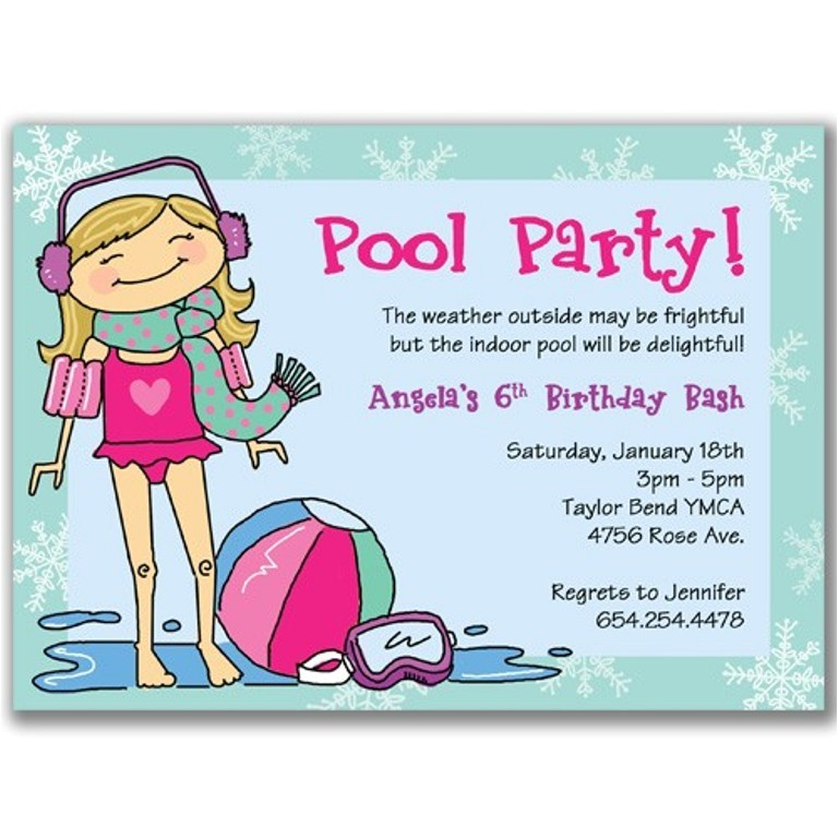 masterly tips to write attractive pool party invitations