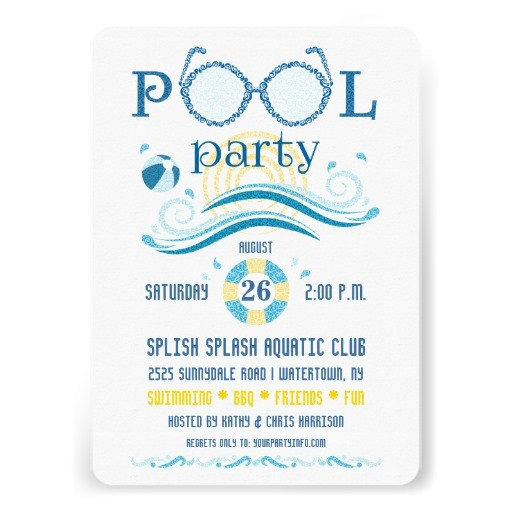 pool party invitation ideas for adults3646
