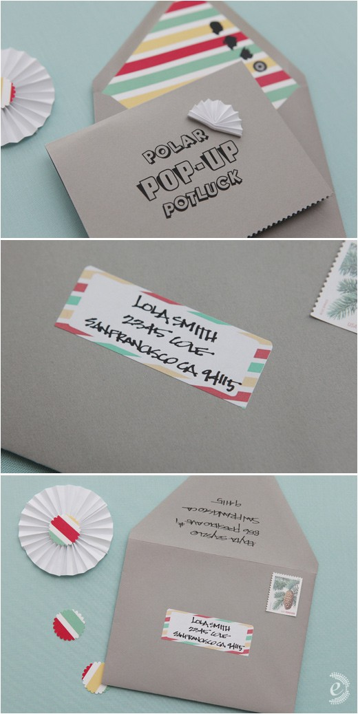 diy paper pop up baby shower invitations