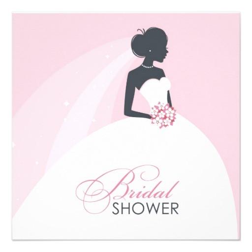 bridal shower postcard invitations free