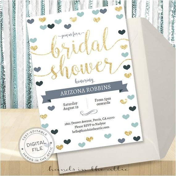 bridal shower invitation editable template bachelorette