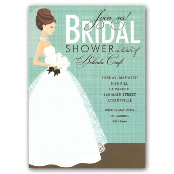 Join Us Bridal Shower Invitations p 109 IN 229