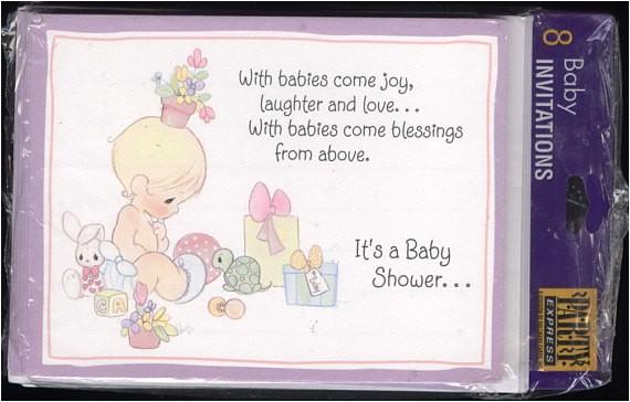 precious moments 1995 vintage baby
