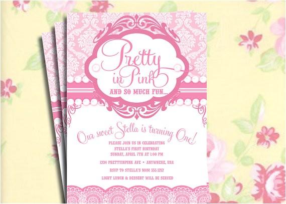 diy printable vintage pretty in pink
