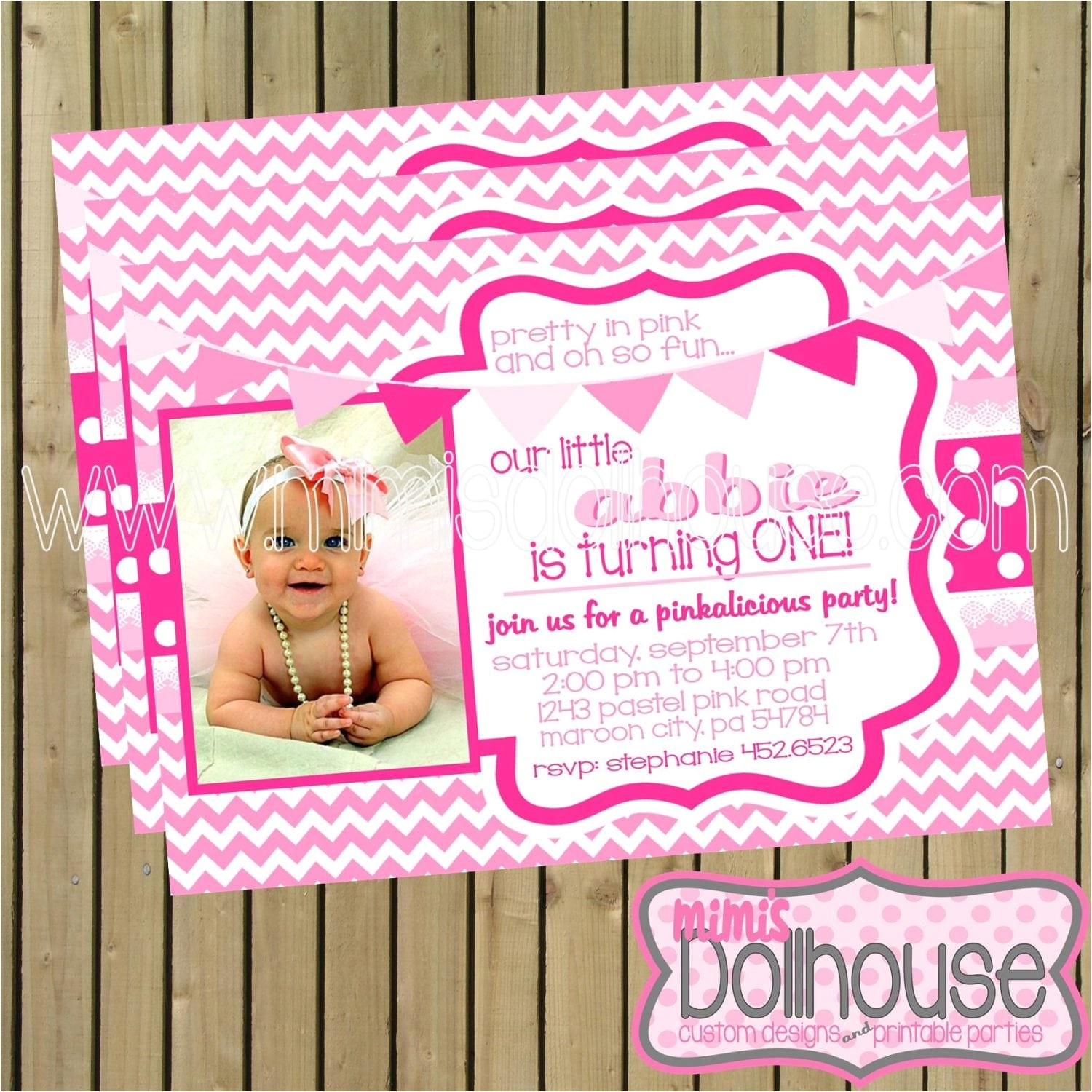 pretty in pink party printable collection