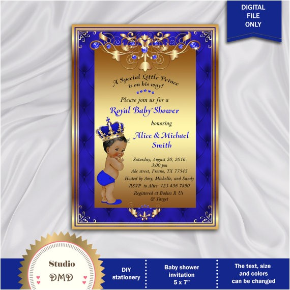 prince baby shower invitation little ref=market