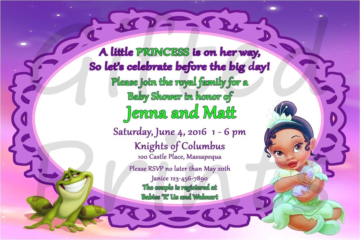 1523 princess and frog baby