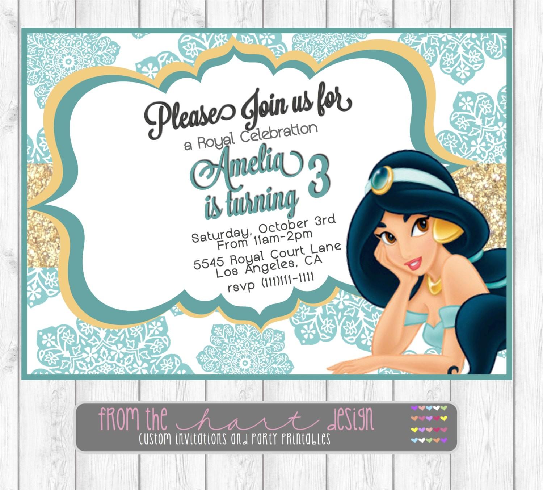 disney princess jasmine birthday party
