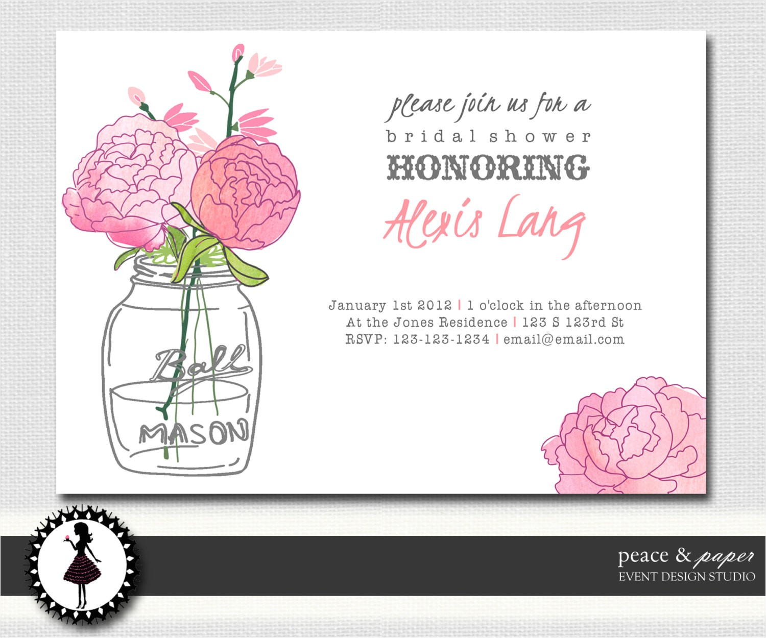 free print at home bridal shower