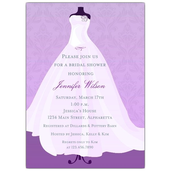 shower invitations print at home