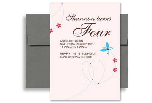 Print My Own Birthday Invitations How to Make My Own Custom Birthday Invitation Design 5×7