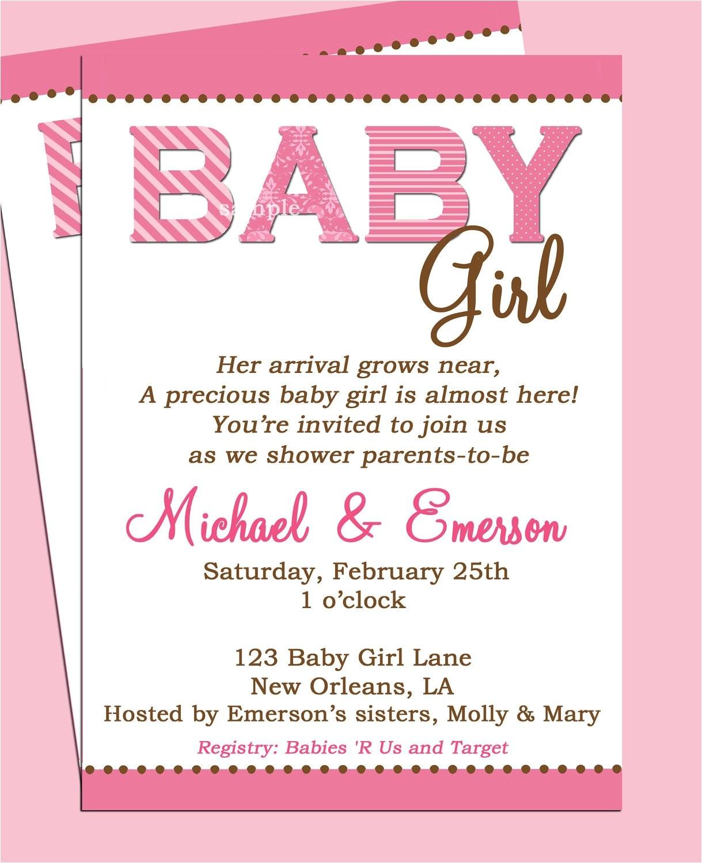baby shower invitation printable pick
