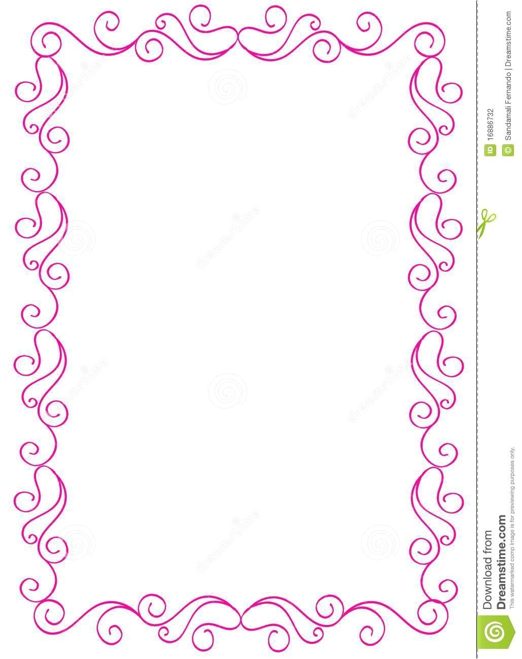 post background wedding border design