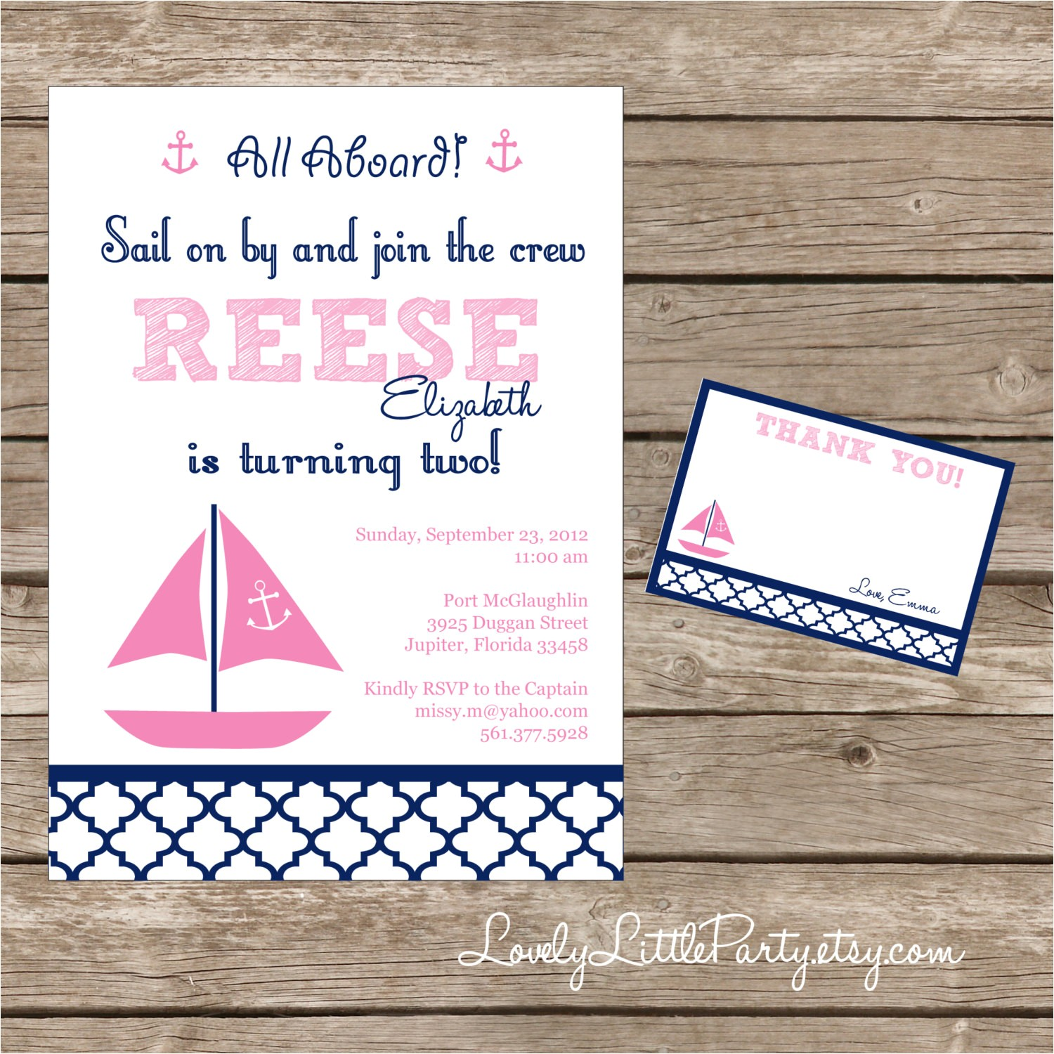 diy printable sail on by nautical