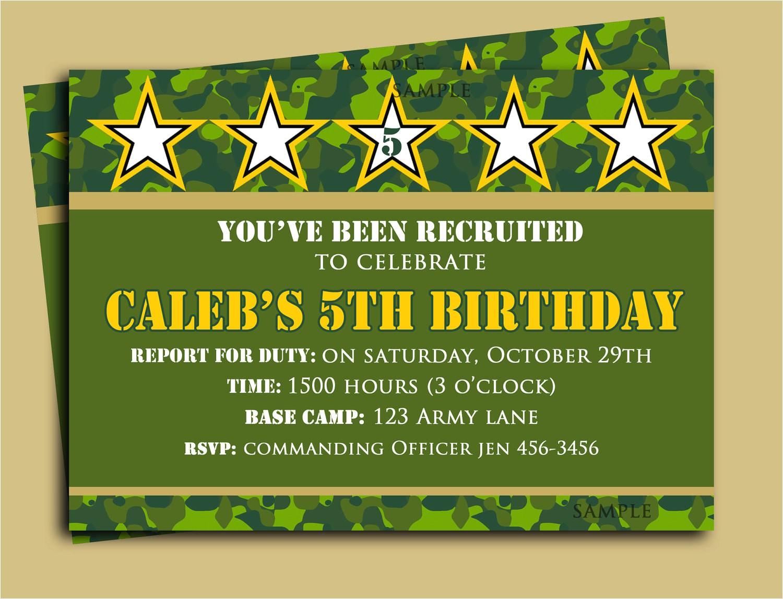 camouflage birthday invitation printable