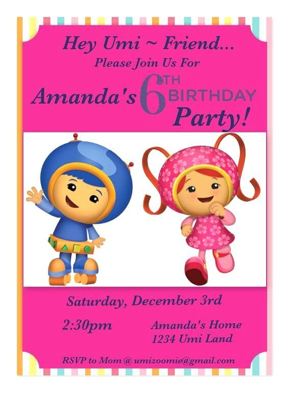 team umizoomi invitations team customized invitations by on team umizoomi invitation party