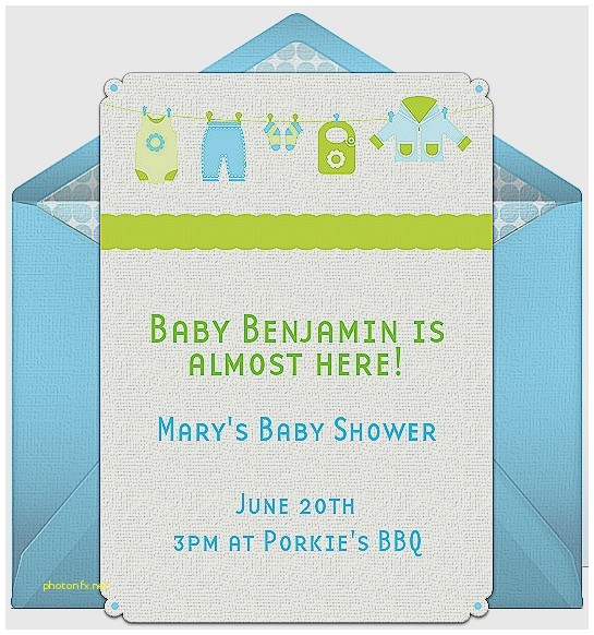 when should baby shower invitations be sent out