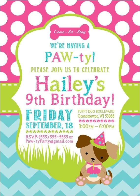 puppy birthday parties