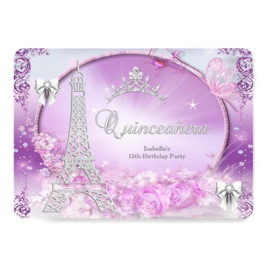 find quinceanera invitations id 54011c0771086b3fe84c7f4eb3e886a9