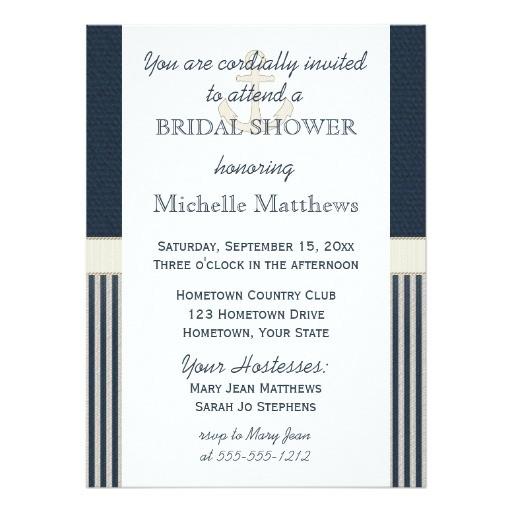 quick ship bridal shower invitations