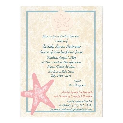 quick wedding shower invitations