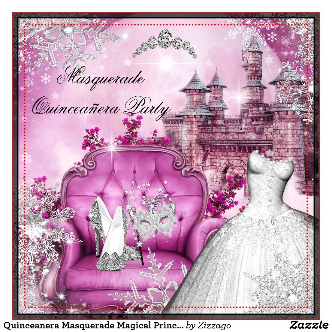 collectionqdwn quinceanera masquerade bottle invitations