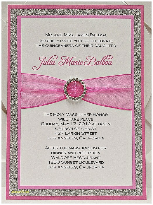 invitation maker for quinceanera