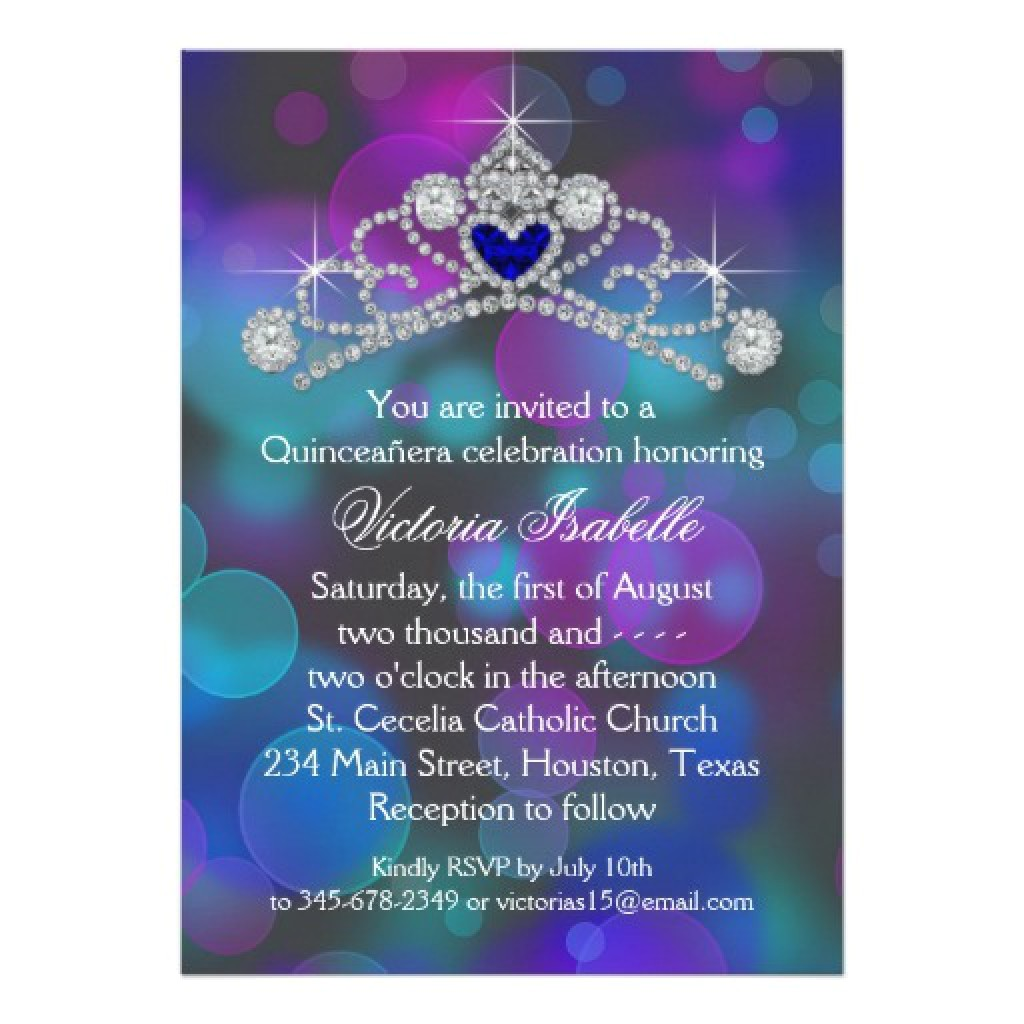 quinceanera invitation maker free