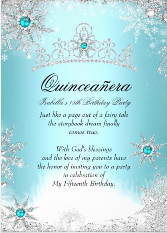 quinceanera invitations template