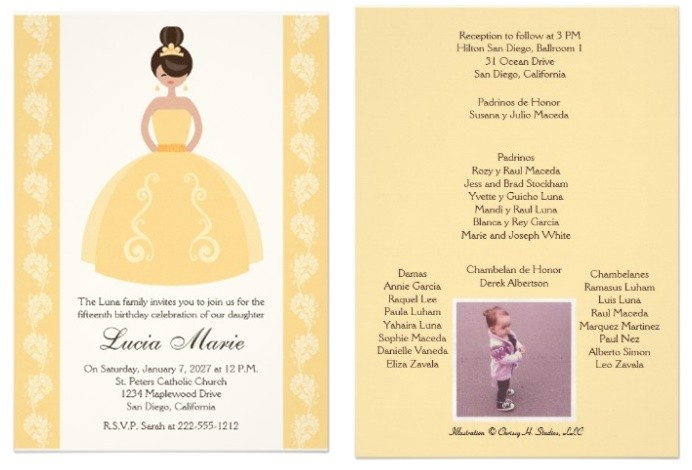 zazzle quinceanera invitations review