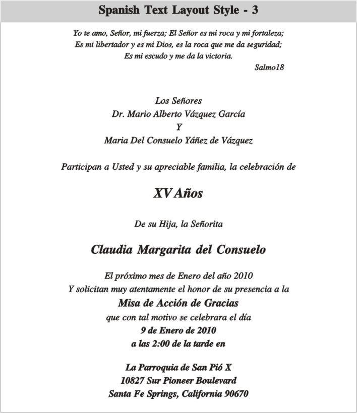 quinceanera invitation in spanish