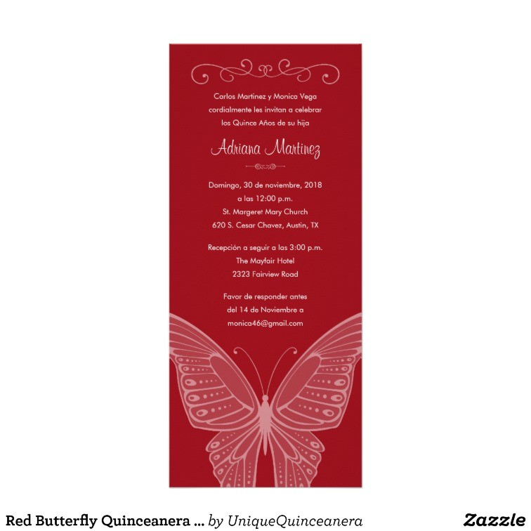 butterfly quinceanera invitations invitation wording in english text 1
