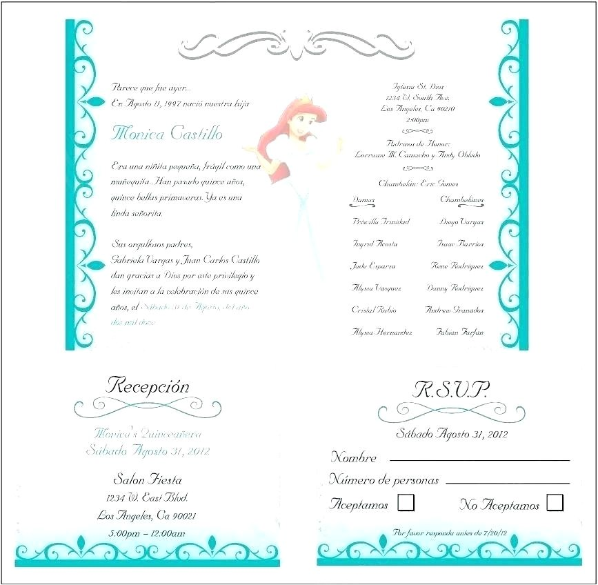 wording for quinceanera invitations in english